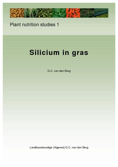 Silicium in gras