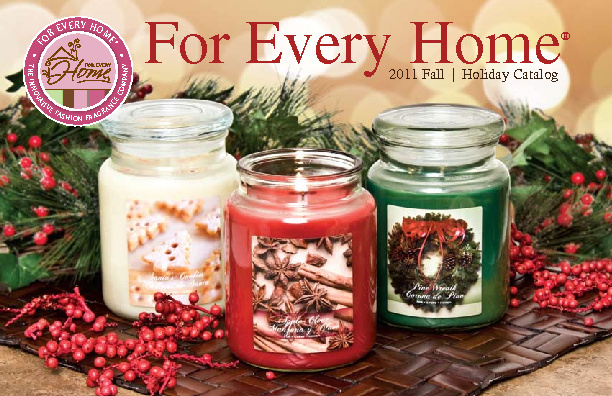 For Every Home Fall Winter 2011 Catalog by Tangela Smith William