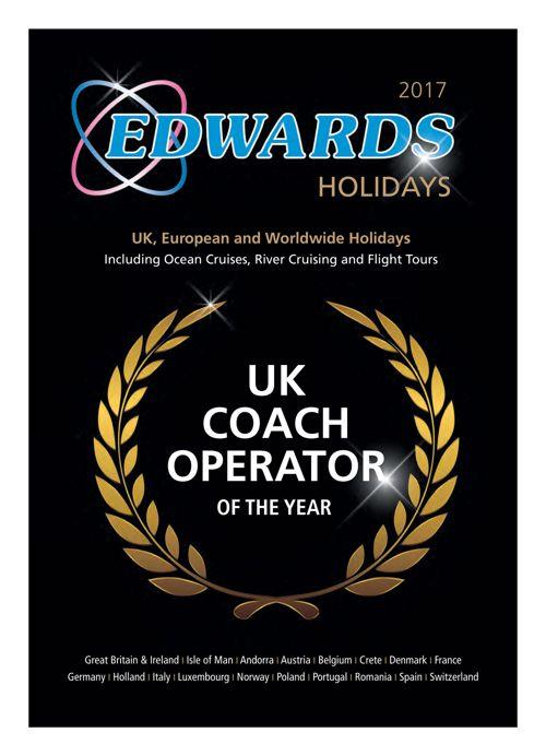 UK, European and Worldwide Holidays 2017