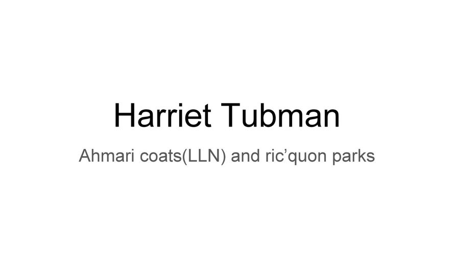 Harriet Tubman by ahmari and ricquon
