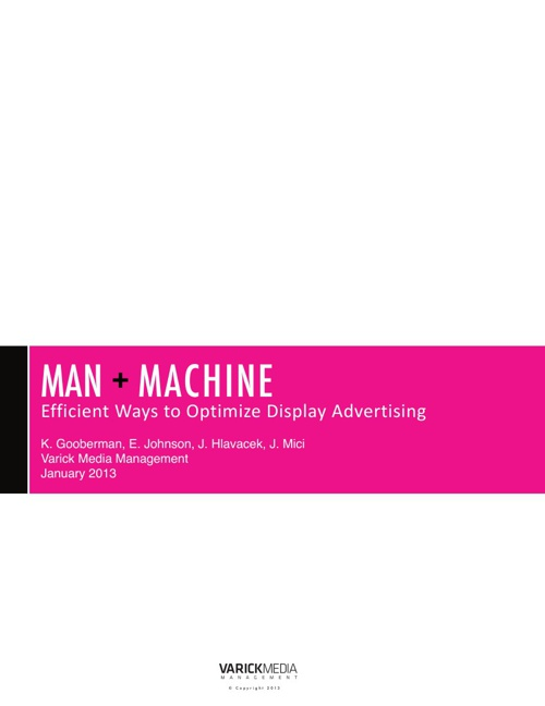 Man and Machine White Paper