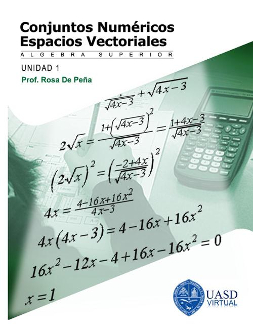 Conjuntos Numericos y Espacios Vectoriales