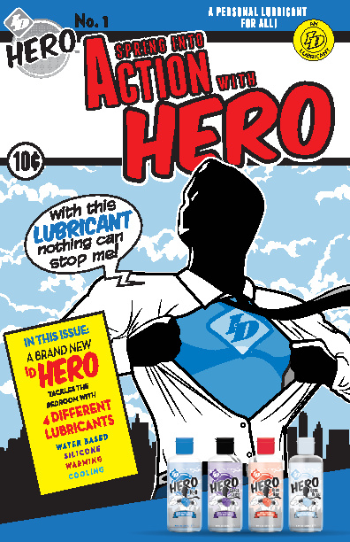 HERO Comic Book