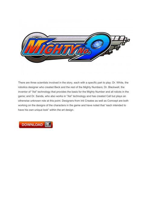 22 Mighty No 9 – Xbox360