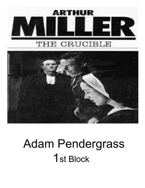 the chaos in salem in arthur millers the crucible During this lesson, we take an in-depth look at the play, the crucible, written by arthur miller we touch on a brief summary of the play before.