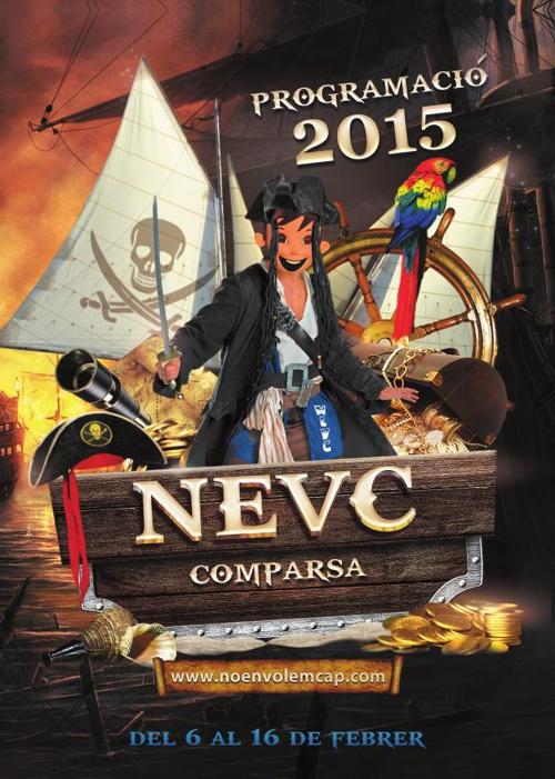 Programació  Carnaval 2015 NEVC