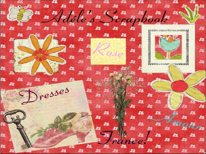 Adéle's Scrap book