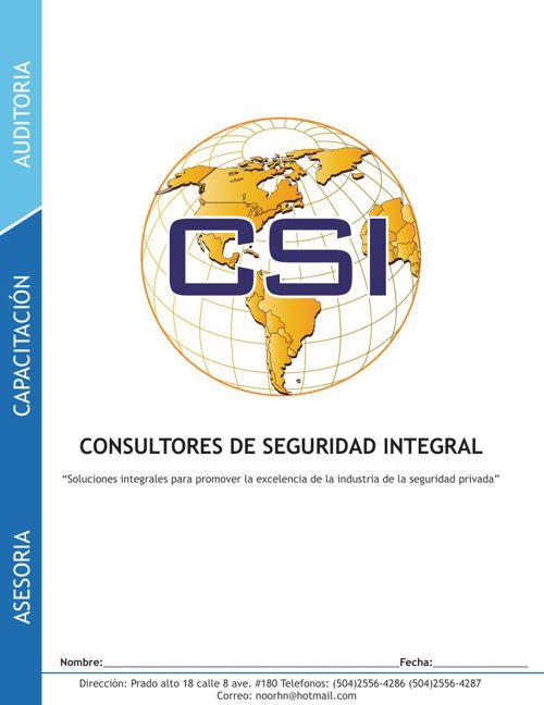 Libro CSI