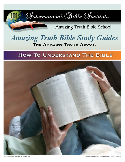 International Bible Institute Advanced Lessons