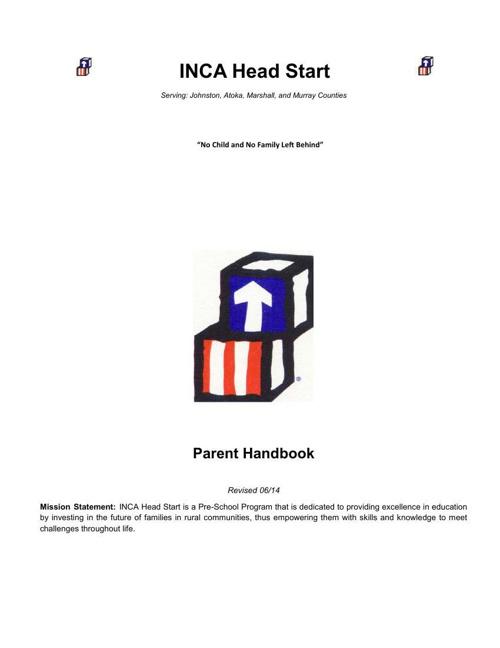 Parent Handbook christifile