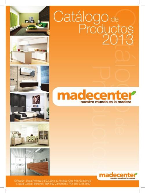 Catálogo Madecenter