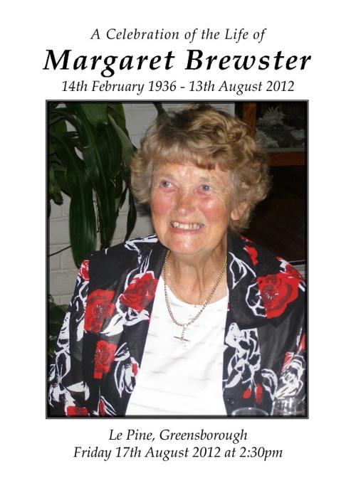 Margaret Brewster