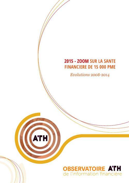 ATH - Etude Santé financière PME 2015