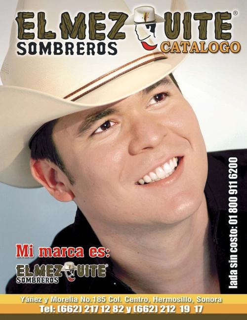 Catálogo de Sombreros El Mezquite