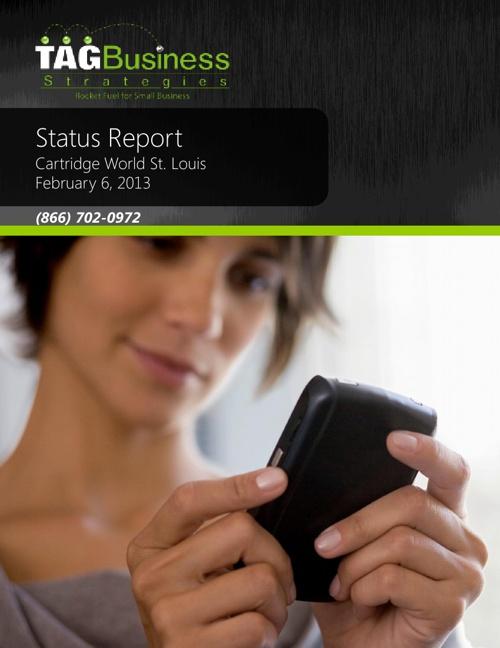 CWSTL Status Report 20130216