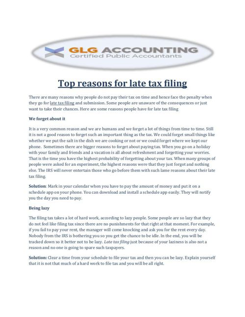 FlipSnack - What_to_Do_When_Incas... by Late Tax Filing