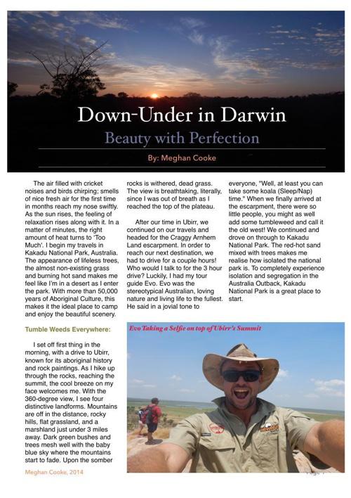 Down-Under in Darwin
