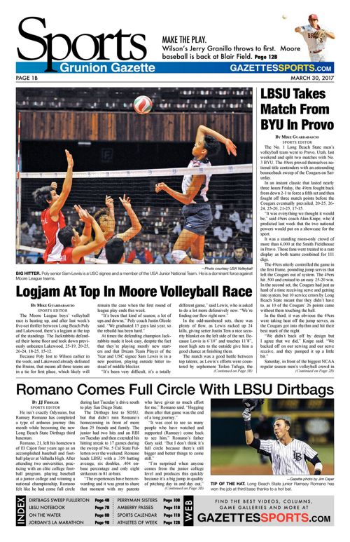 Gazette Sports  |  March 30, 2017
