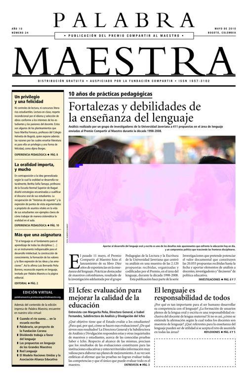 Palabra Maestra, Edición 24