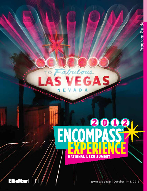 Encompass EXPERIENCE 2012 Program Guide