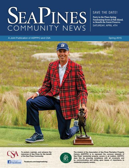 Sea Pines Spring Newsletter 2015