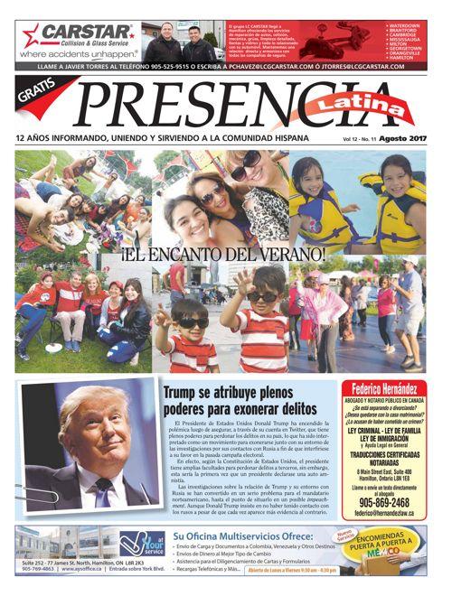 Presencia Latina Version Virtual Agosto 2017