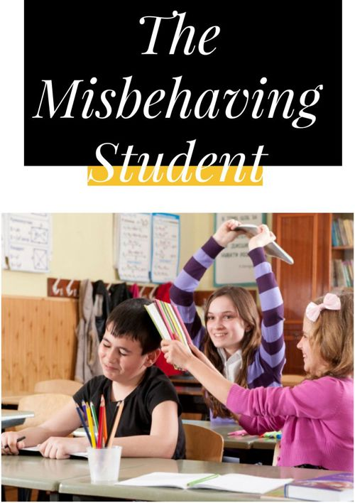 The misbehaving student and how to speak to the parent