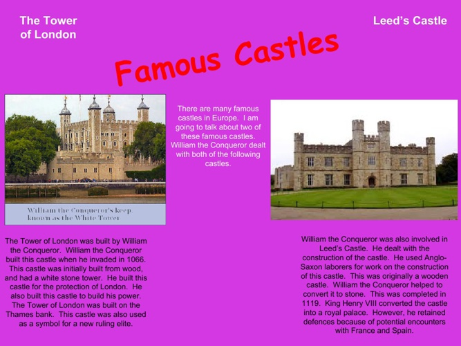 Castles  Scrapbook By: Faith Harper