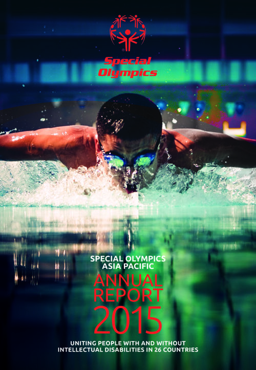 2015 Special Olympcs Asia Pacific Annual Report