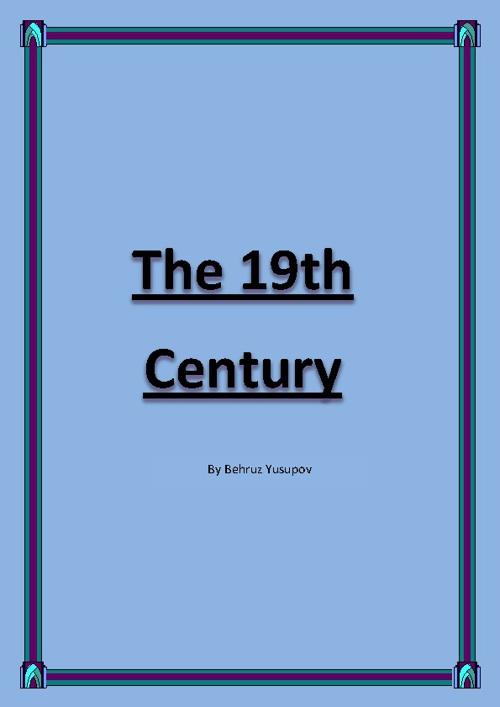 The 19th Century