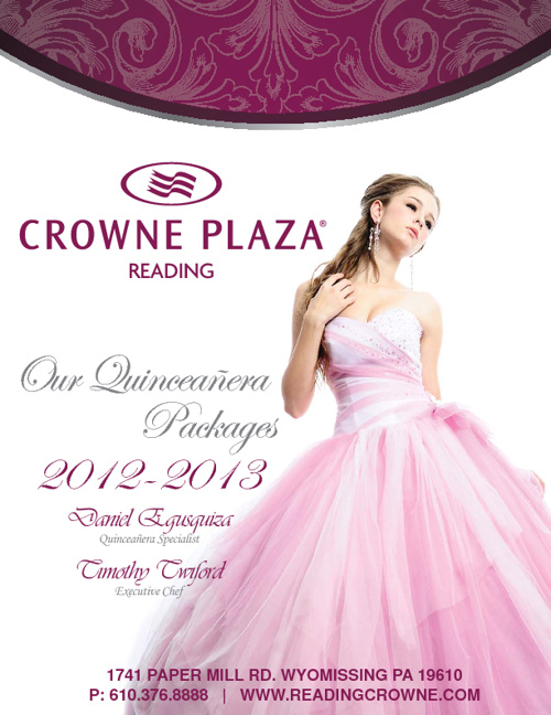 Crowne Plaza Quinceañera Package 2012-13