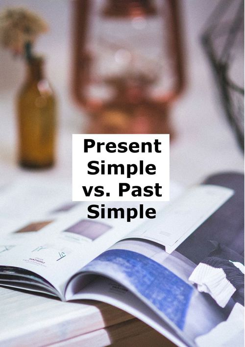 Present v.s Past simple