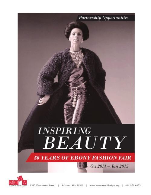 Copy of Lookbook for Inspiring Beauty: 50 Years of Ebony Fashion