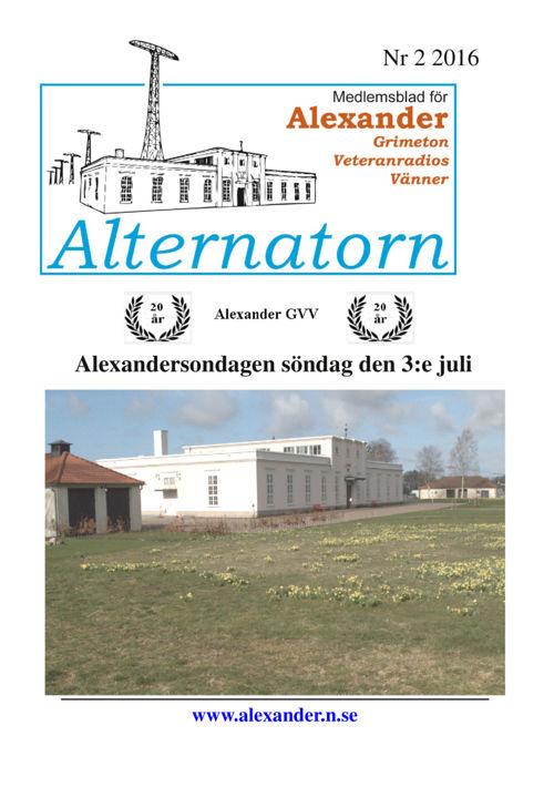 Alternatorn 2016-2