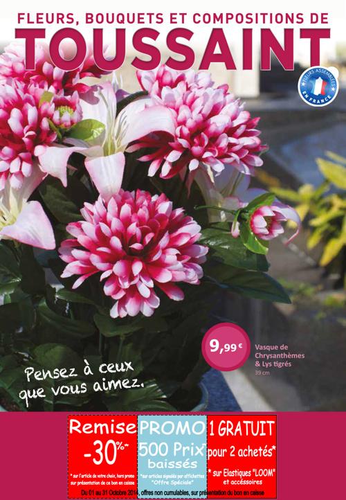 """Fleurs de Toussaint """" Pensez à ceux que vous aimez ! """""""