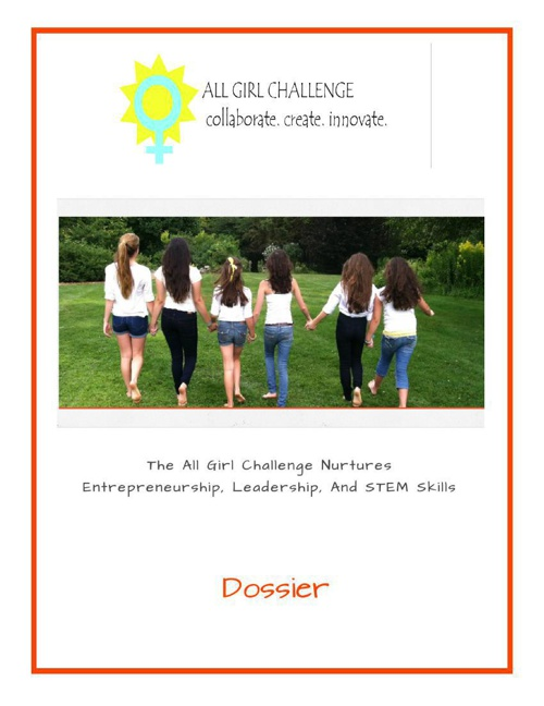 DOSSIER: All Girl Challenge (21 pages)