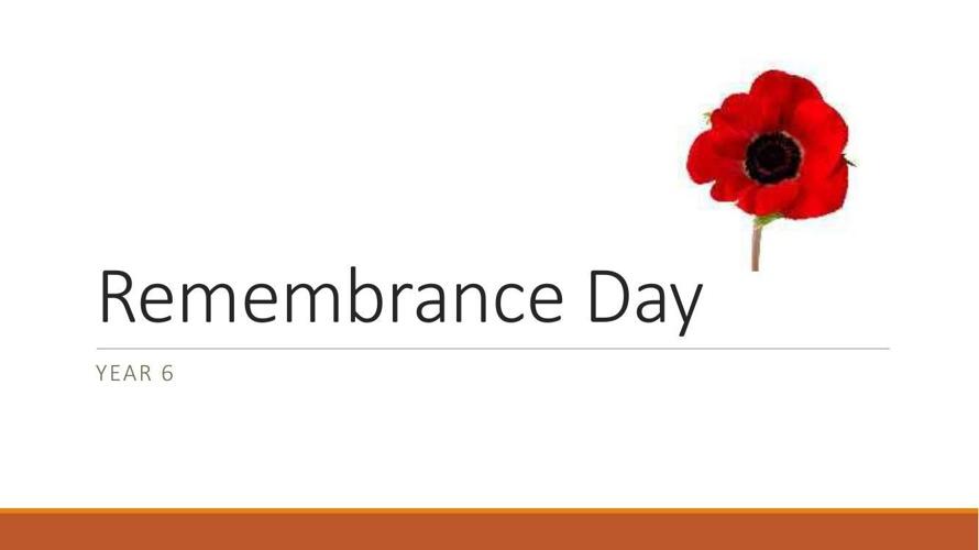 Remembrance Dayfi