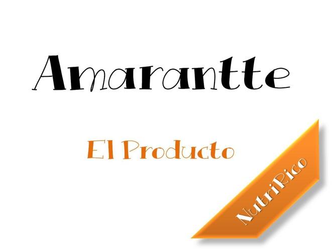 Amarantte Cátalogo