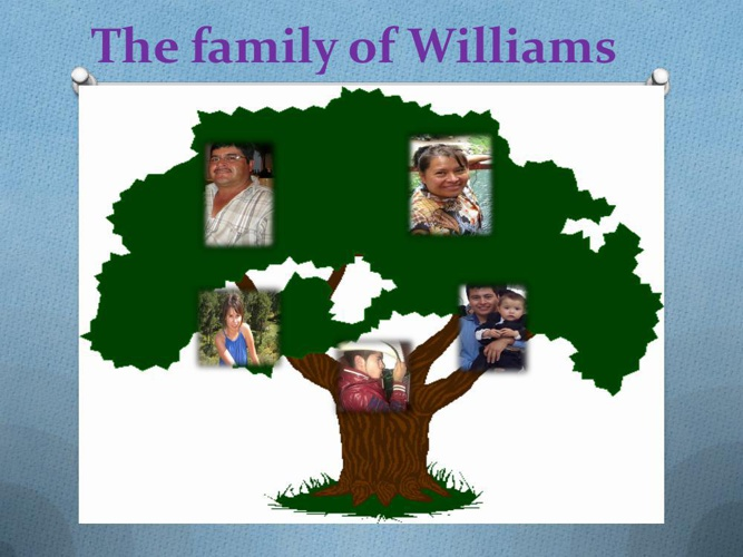 The family of Williams