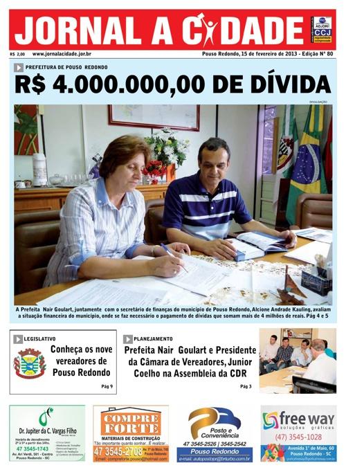 Edição 80 Jornal a Cidade