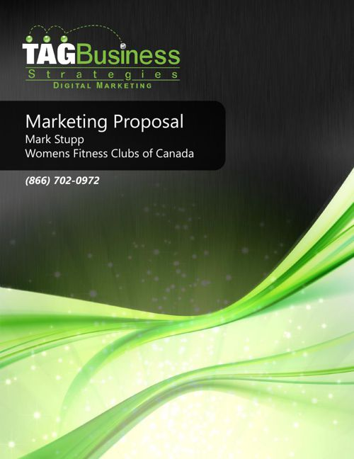 Womens Fitness Clubs of Canada Marketing Proposal_20150714