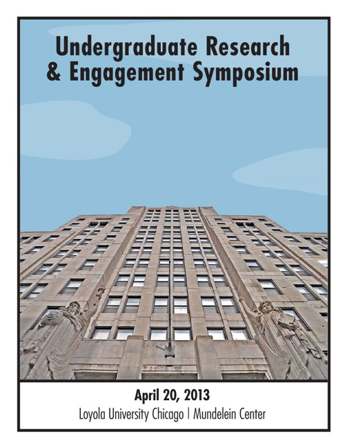2013 Undergraduate Research & Engagement Symposium program