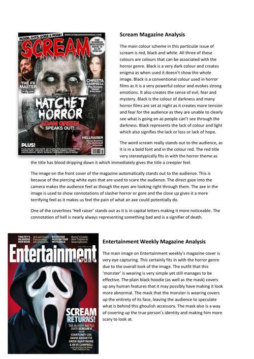 magazine connotationss