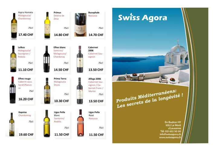 Swiss Agora Flyer