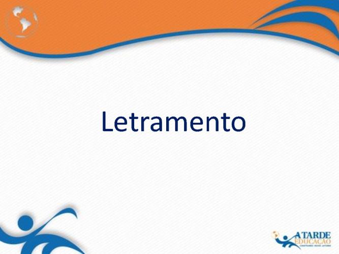 Livro - Letramento