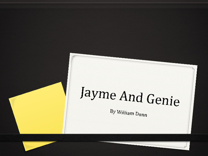 Jayme and Jeanie