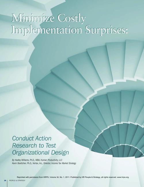 Minimize Costly Implementation Surprises
