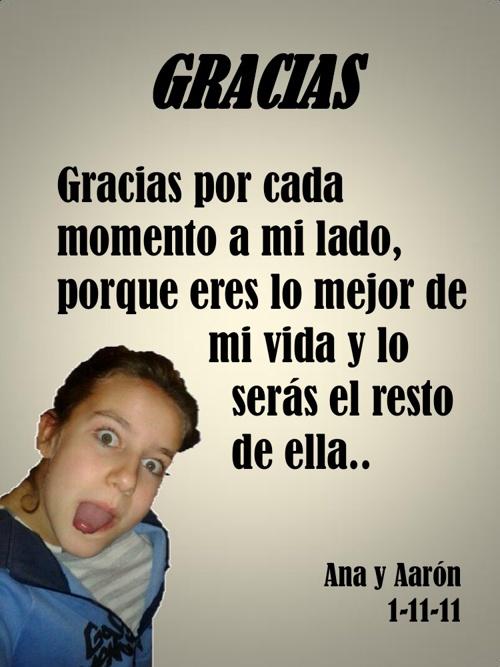 ANA Y AARON