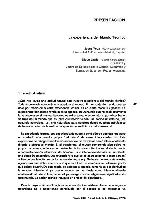 VOL02/N05 - Presentación dossier