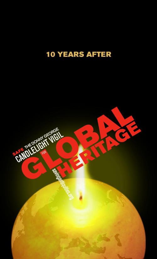 SAFE Vigil for Global Heritage Commemorative book